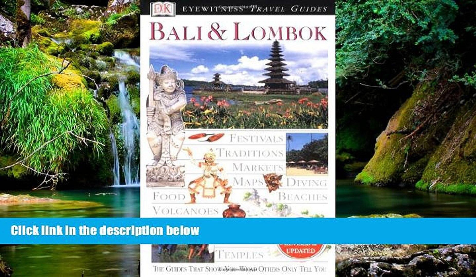 Must Have Eyewitness Travel Guide To Bali Lombok Read Ebook Full Ebook
