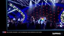 NRJ Music Awards: Shy'm embrasse sa danseuse en faveur du mariage gay (Vidéo)