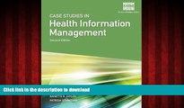 Read book  Case Studies for Health Information Management