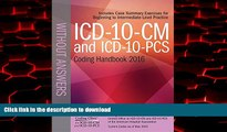 liberty books  ICD-10-CM and ICD-10-PCS Coding Handbook, without Answers, 2016 Rev. Ed. online to
