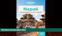 Books to Read  Lonely Planet Nepali Phrasebook   Dictionary  Best Seller Books Most Wanted