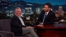 Robert De Niro ne mettra pas son poing dans la figure de Donald Trump - Regardez