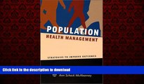 liberty book  Population Health Management: Strategies to Improve Outcomes online to buy