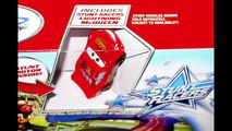 Cars Stunt Racers Double Decker Speedway Race Track Set Lightning McQueen Disney Pixar Cars Toy