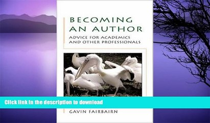 READ  Becoming an author: advice for academics and professionals FULL ONLINE