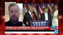 """Election de Donald Trump : """"On s'inquiète beaucoup de ses positions protectionnistes"""""""