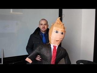 Wow! Donald Trump Piñata Raises Money for NYC's Homeless