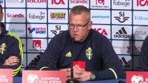 CM 2018 - Suède: Janne Andersson s'exprime sur la reconstruction de l'équipe suédoise après le départ de Zlatan