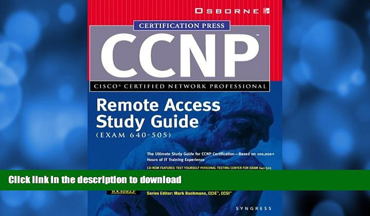 READ BOOK CCNP Remote Access Study Guide (Exam 640-505) BOOK