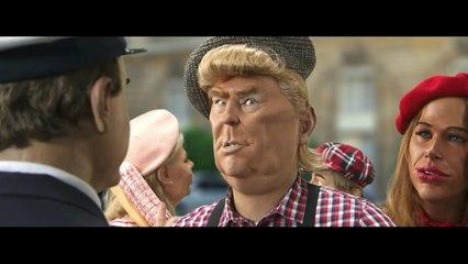 Exclu mondiale : 1ère visite officielle du Président Donald Trump en France ! - CANAL+