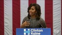 Michelle Obama blasts Trump: 'He is threatening the very idea of America itself'