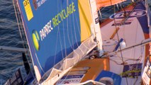Day 5 : Armel Le Cléach is the first to gybe / Vendée Globe