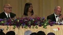 Obama out: President Barack Obamas hilarious final White House correspondents dinner speech