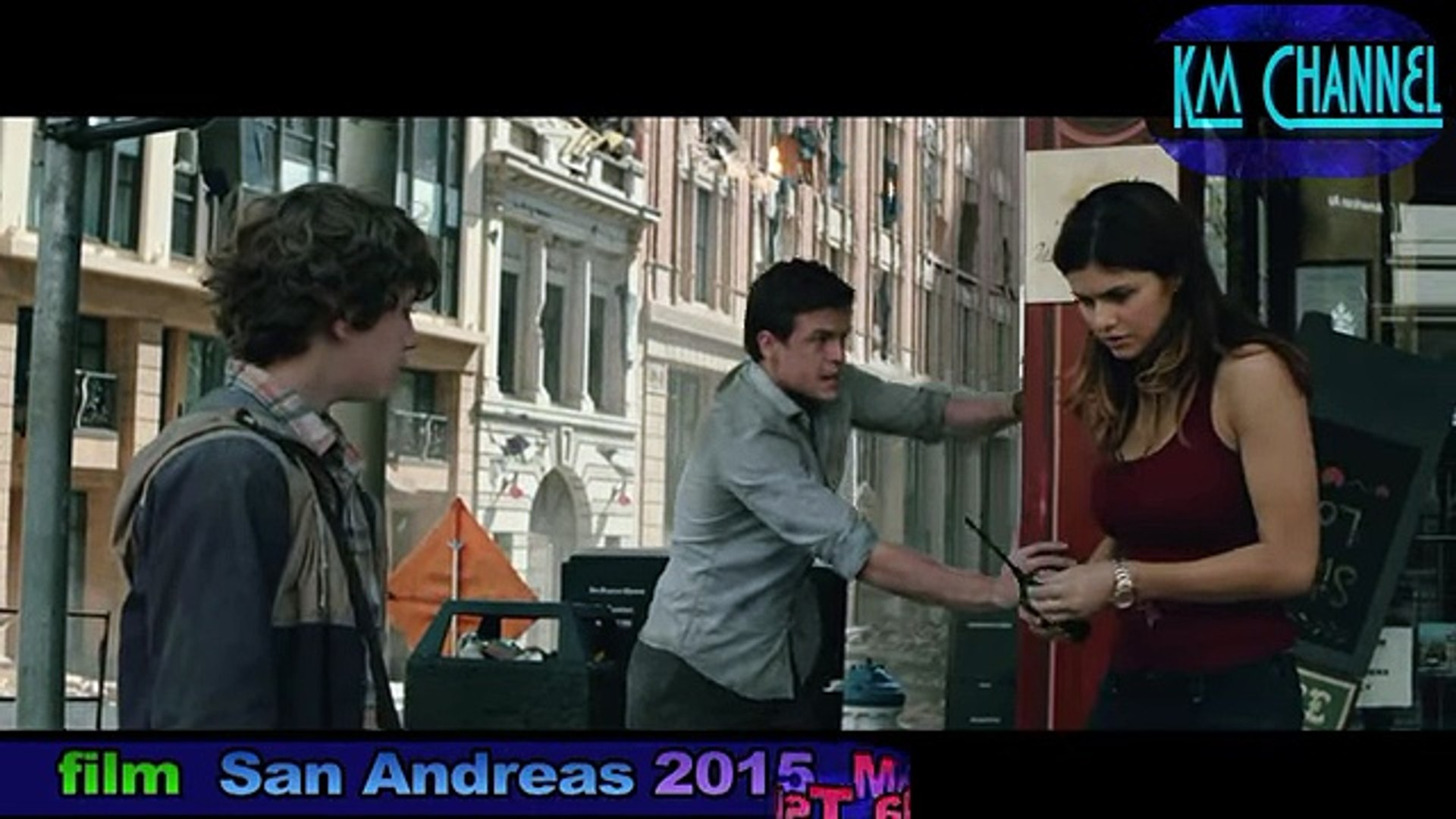 Mega Tsunami Scenes From The Film San Andreas 2015 Video Dailymotion