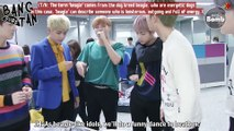[ENG] 161110 BOMB: BTS checking out the interview script after camera rehearsal @ Ingigayo