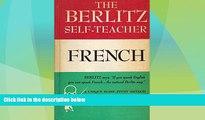 Deals in Books  The Berlitz Self Teacher: French  Premium Ebooks Online Ebooks