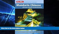 Ebook deals  Berlitz Mandarin Chinese Phrase Book   Dictionary  Buy Now