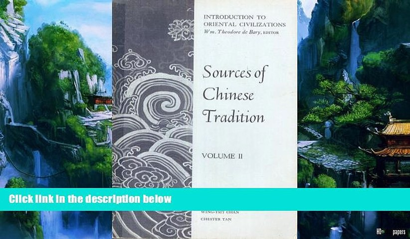 Best Buy Deals  Sources of Chinese Tradition, Vol. II  Full Ebooks Best Seller