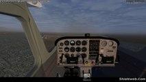 FLIGHTGEAR SIMULADOR AVION CESSNA 172P SKYHAWK EN LAS VEGAS KLAS CON CARGA NOV 2016