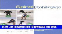 [PDF] Spinal Stabilization : The New Science of Back Pain Popular Online