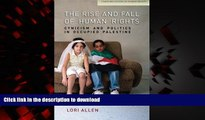 Buy book  The Rise and Fall of Human Rights: Cynicism and Politics in Occupied Palestine (Stanford
