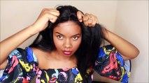 $29 Quick & Sleek Bone Straight Hair: R&B All Around Lace Wig Ubangi