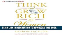 Best Seller Think and Grow Rich for Women: Using Your Power to Create Success and Significance