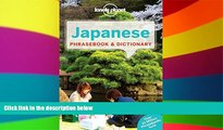 Must Have  Lonely Planet Japanese Phrasebook   Dictionary (Lonely Planet Phrasebook and