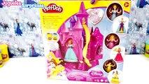 Juguetes de Princesas de Disney en español - El castillo de las Princesas Plastilina play doh