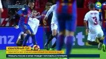 Месси забил юбилейный 500-й гол за «Барселону»