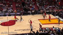 Dwyane Wade Throws it Down | Bulls vs Heat | November 9, 2016 | 2016-17 NBA Season