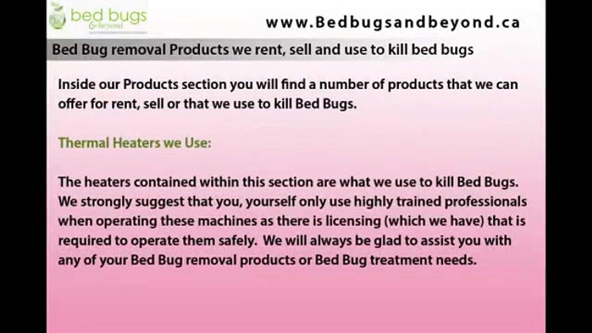 Bug Removal Products