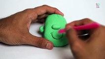 Play Doh Halloween Frankenstein | Funny Frankenstein | How To Make Halloween Frankenstein