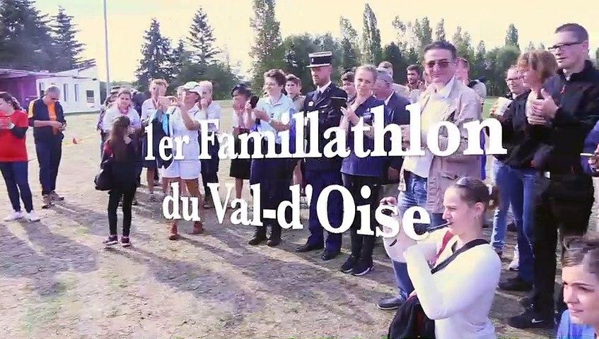 Famillathlon 2016 - Luzarches - 1er Famillathlon du Val-d'Oise