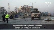 Afghanistan: attaque des talibans contre un consulat allemand