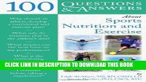 [PDF] 100 Questions And Answers About Sports Nutrition     Exercise (100 Questions   Answers