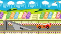 Cars Cartoon about Race Cars & Sports Car Race in the City | Cartoons Compilation for children