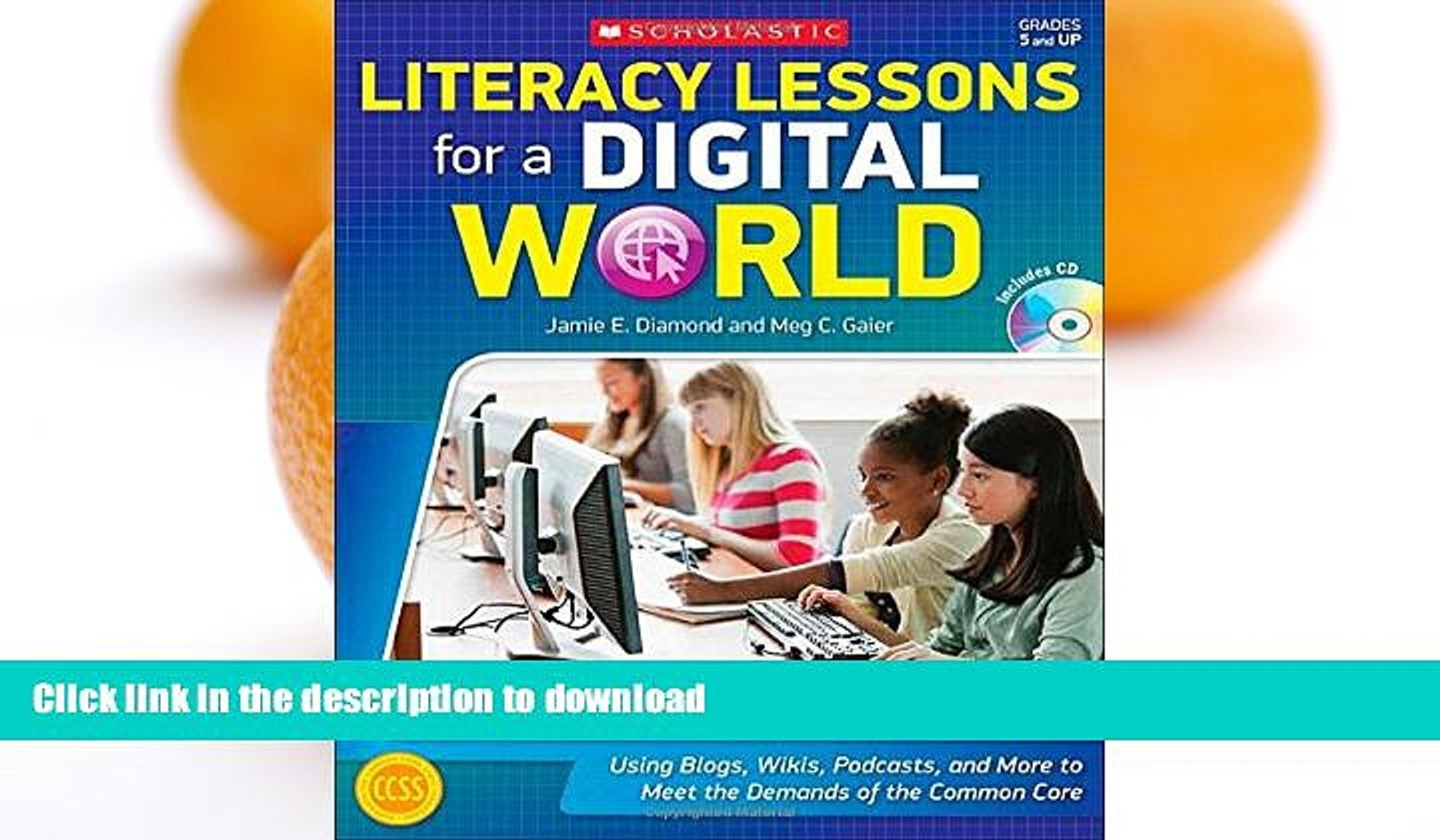 READ  Literacy Lessons for a Digital World: Using Blogs, Wikis, Podcasts, and More to Meet the