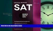Free [PDF] Downlaod  SAT Critical Reading Workbook (Advanced Practice Series) (Volume 4)  BOOK