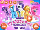 My Little Pony Game - Which My Little Pony Character Are You - My Little Pony Games For Girls