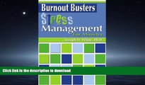 FAVORITE BOOK  Burnout Busters: Stress Management for Ministry (Burnout Busters) (Burnout