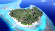 Amazing Places And Beaches – Maldives from the air in 4K