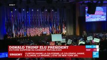 France 24 - Extrait ÉLECTIONS AMÉRICAINES 2016 - Annonce de l'élection de Donald Trump (2016)