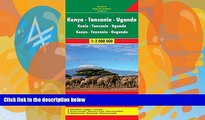 Books to Read  Kenya / Tanzania / Uganda FB 1:2M 2013 (English, French and German Edition)  Best