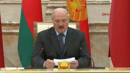 Cumhurbaşkanı Erdoğan Belarus'ta -1