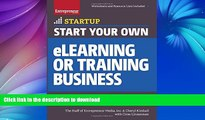 FAVORITE BOOK  Start Your Own eLearning or Training Business: Your Step-By-Step Guide to Success