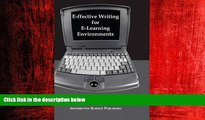 READ book  E-ffective Writing for E-Learning Environments (Cases on Information Technology)  BOOK