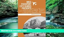 Deals in Books  Cape Town South Africa Travel Guide: 3 Day Unforgettable Vacation Itinerary to