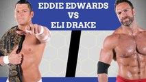 Eddie Edwards vs. Eli Drake - TNA World Heavyweight Championship - TNA Impact Wrestling 11-10-16