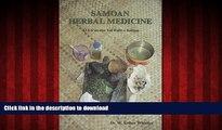 Buy books  Samoan Herbal Medicine:  O La au Ma Vai Fofo Samoa online to buy